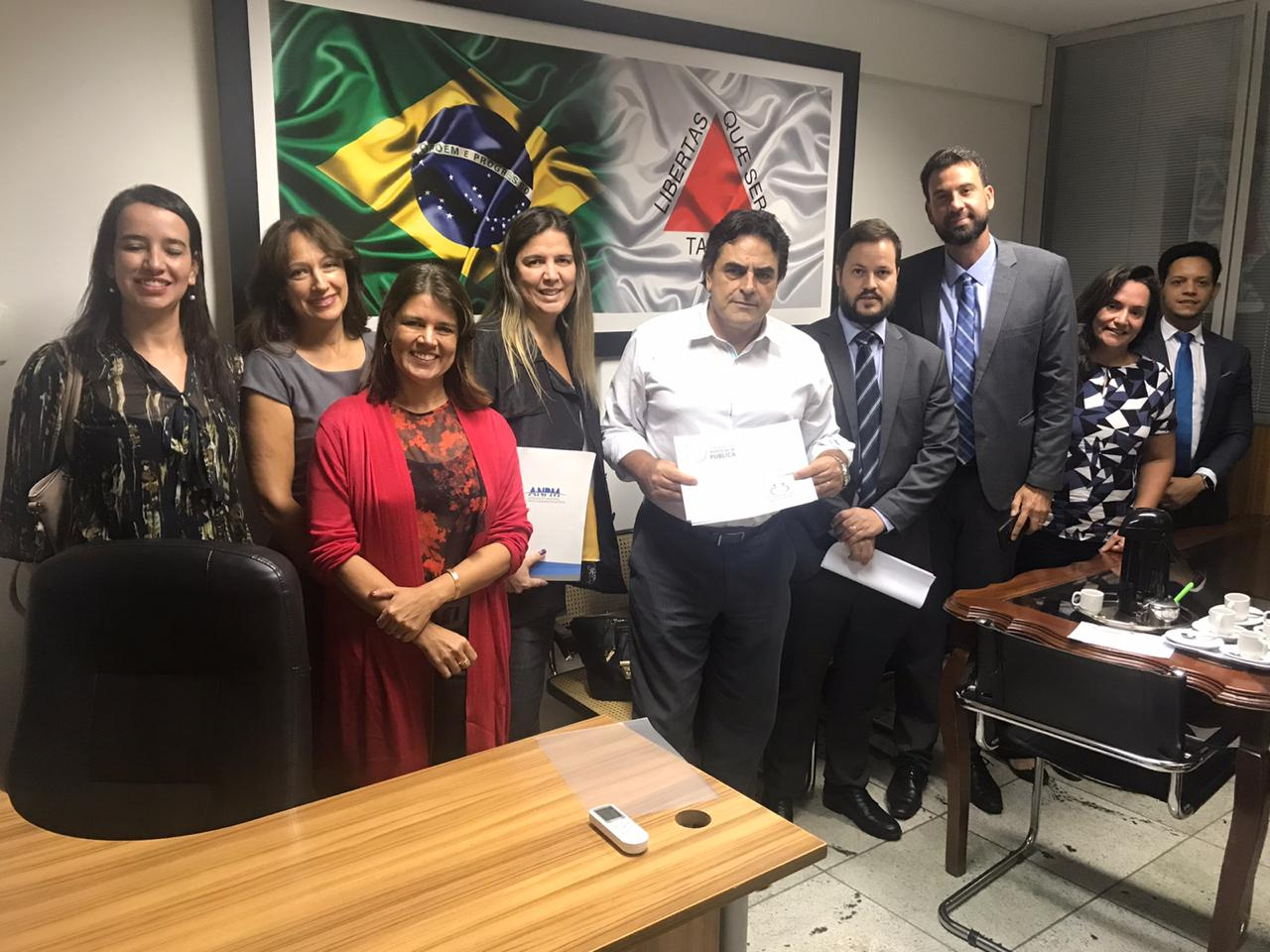 APROMBH se reúne com o Deputado Domingos Sávio para tratar do PL dos honorários