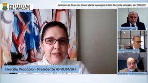 Read more about the article Novos procuradores municipais são empossados em cerimônia on-line