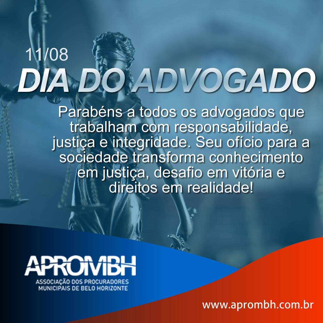 Read more about the article 11 de agosto – Dia do Advogado